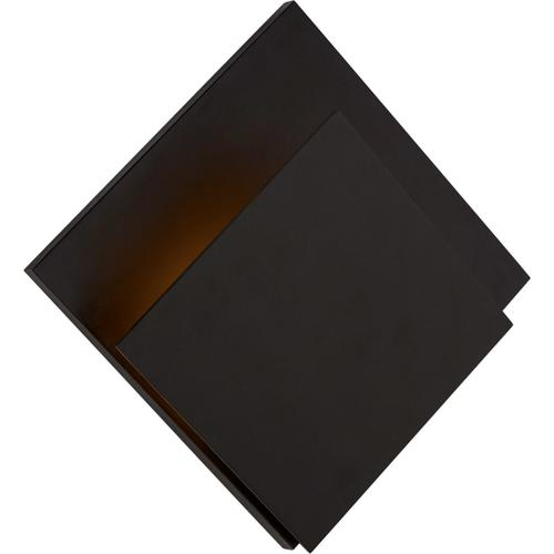 AERIN Naila LED 14 inch Aged Iron Square Wall Washer Wall Light