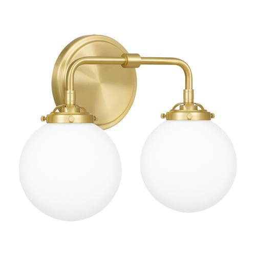 Quoizel - Landry Bath Light in Satin Brass