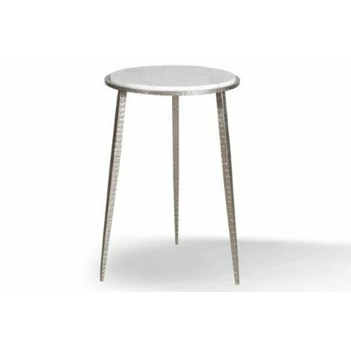 Parker House - CROSSINGS PALACE Accent Table (made of Iron & Marble)