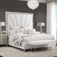 See Details - Cal King Channel-tufted Upholstered Bed (3 Pc) - No Canopy