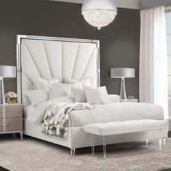 Cal King Channel-tufted Upholstered Bed (3 Pc) - No Canopy
