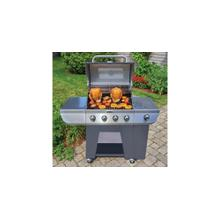 See Details - Deluxe Four Burner Gas Grill