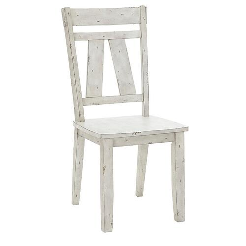 Dining Chair- 2/CTN - Oyster Finish