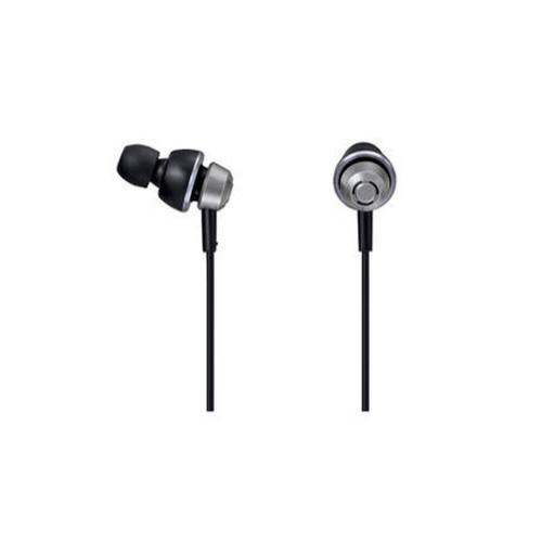 Drops 360° In-Ear Earbud Headphones with Mic + Controller - Silver - RP-HJX6M-S