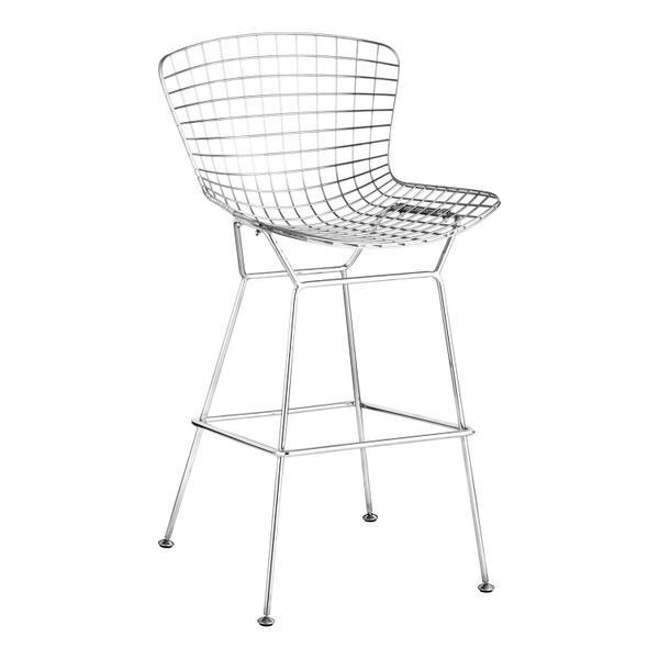 See Details - Wire Bar Chair Chrome