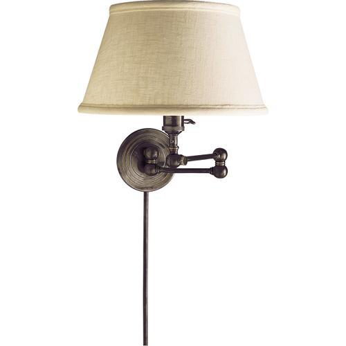 E. F. Chapman Boston 19 inch 60.00 watt Bronze Swing-Arm Wall Light