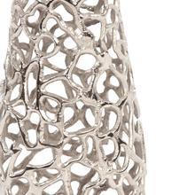 View Product - Silver Aluminum Branch Vase, Large