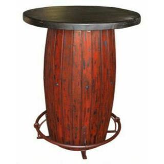 See Details - Red Scrape Barrel Bar