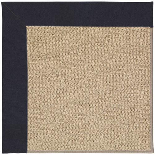 "Creative Concepts-Cane Wicker Canvas Navy - Rectangle - 24"" x 36"""