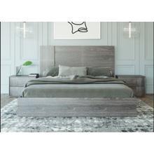 Product Image - Nova Domus Asus - Italian Modern Elm Grey Bed