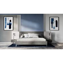 Product Image - Nova Domus Bronx Italian Modern Faux Concrete & Grey Bed