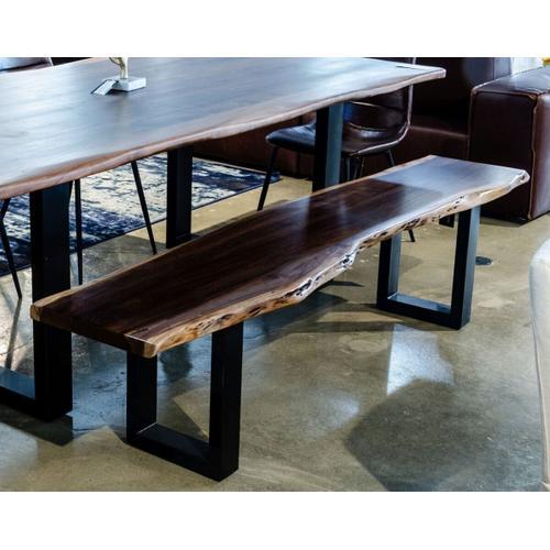 VIG Furniture - Modrest Taylor - Large Modern Live Edge Wood Large Dining Bench