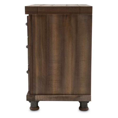 Amini - Accent Cabinet-night Stand-end Table 3 Drawer