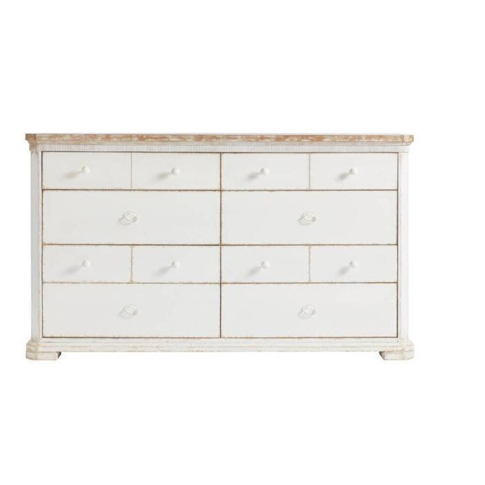 Juniper Dell Dresser - 17th Century White