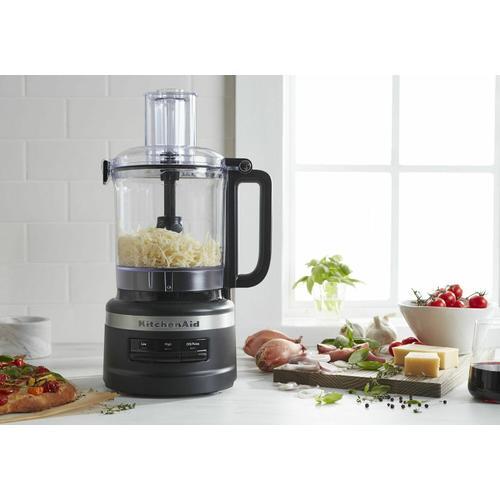 KitchenAid - 9 Cup Food Processor Plus - Black Matte