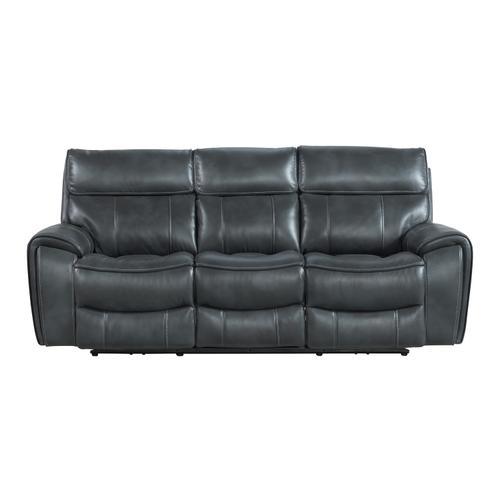 Summit Dual-Power Sofa  Bolero Slate