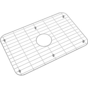 "Dayton Stainless Steel 22-3/4"" x 14-3/4"" x 1"" Bottom Grid Product Image"