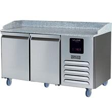 2 Door Pizza Prep-table Refrigerator With Stainless Solid Finish (115v/60 Hz Volts /60 Hz Hz)