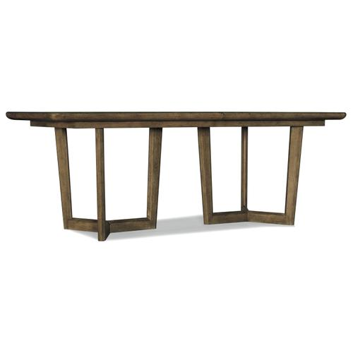 Hooker Furniture - Sundance Rectangle Dining Table w/2-18in leaves