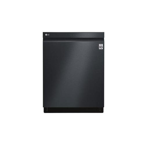 Matte Black Top Control Dishwasher With Truesteam®, Quadwash® and 3rd Rack