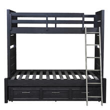 Graphite Bunk Bed Extension Full