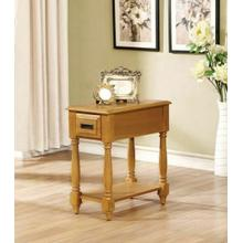 ACME Qrabard Side Table - 80510 - Light Oak