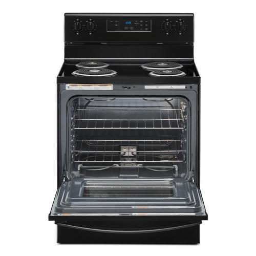 4.8 cu. ft. Whirlpool® electric range with Keep Warm setting