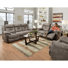 Triple Power Rocking/Reclining Loveseat w/Wand