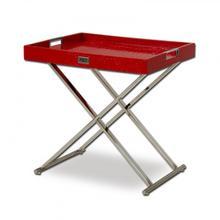 View Product - A&X Cecilia Red Crocodile Tray Table