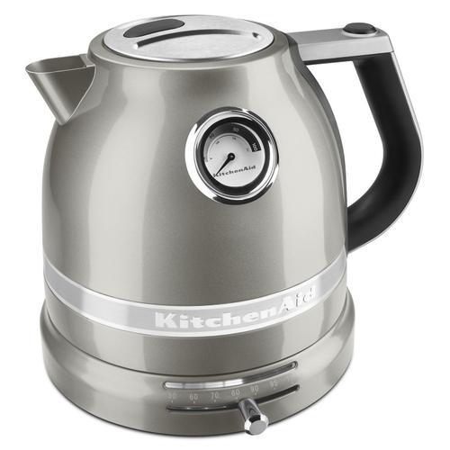 KitchenAid - 1.5 L Pro Line® Series Electric Kettle Sugar Pearl Silver