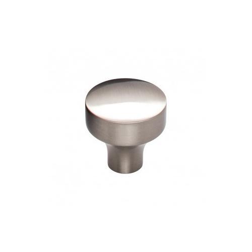 Kinney Knob 1 1/8 Inch - Brushed Satin Nickel