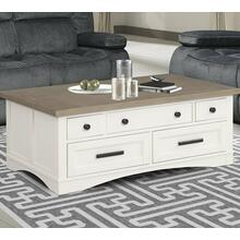 AMERICANA MODERN - COTTON Cocktail Table with Lift Top