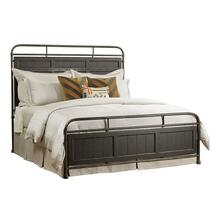 See Details - Mill House King Folsom Anvil Metal Bed