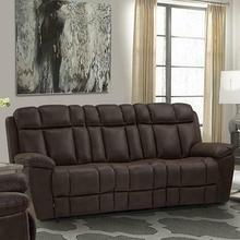See Details - GOLIATH - ARIZONA BROWN Manual Sofa