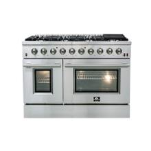 "GALIANO - Gold Professional 48"" Freestanding Gas Range"