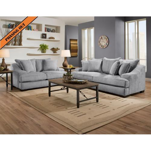 1500 Locomotion Sofa (Stone)