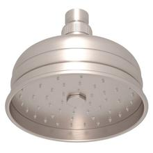 "Satin Nickel 5"" Bordano Rain Anti-Calcium Showerhead"