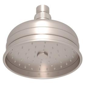"Satin Nickel 5"" Bordano Rain Anti-Calcium Showerhead"