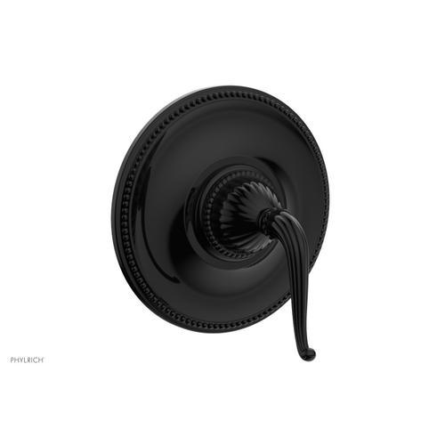 Phylrich - GEORGIAN & BARCELONA Pressure Balance Shower Plate & Handle Trim PB3141TO - Gloss Black