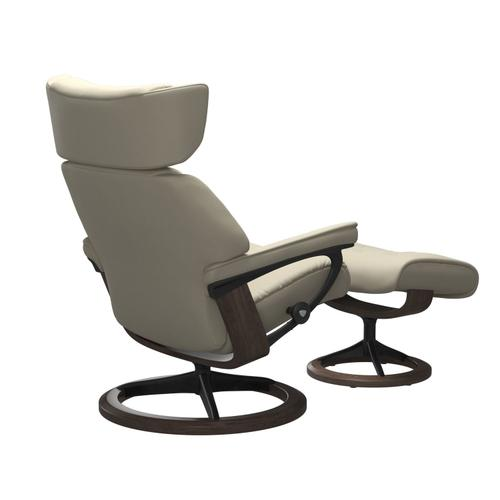 Stressless By Ekornes - Stressless® Skyline (S) Signature chair with footstool