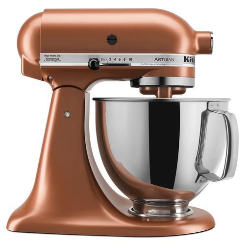 Gallery - Artisan® Series 5 Quart Tilt-Head Stand Mixer Copper Pearl