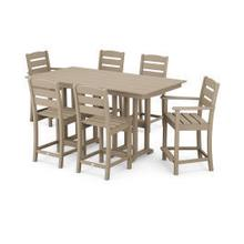 View Product - Lakeside 7-Piece Counter Set in Vintage Sahara