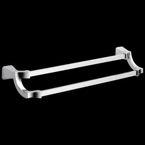 "Chrome 24"" Double Towel Bar Product Image"
