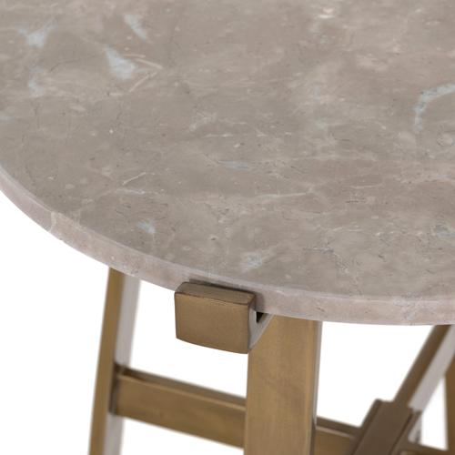 Four Hands - Aline Nightstand-taupe Marble