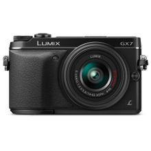 See Details - LUMIX DMC-GX7 Interchangeable Lens (DSLM) Camera Kit with 14-42 II Black Lens - Black