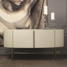 Ellipse Sideboard-Ivory