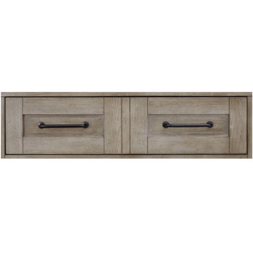 Breckenridge Panel Bed, King 6/6
