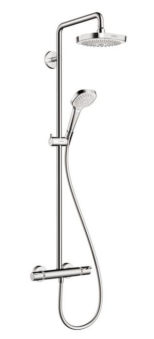 Chrome Showerpipe 180 2-Jet, 2.0 GPM Product Image