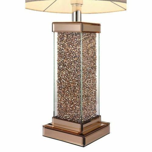 ACME Britt Table Lamp - 40124 - Rose Gold