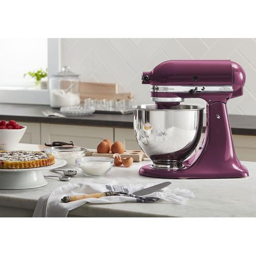 KitchenAid - Artisan® Series 5 Quart Tilt-Head Stand Mixer Boysenberry